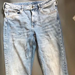High waisted mom jeans -h&m